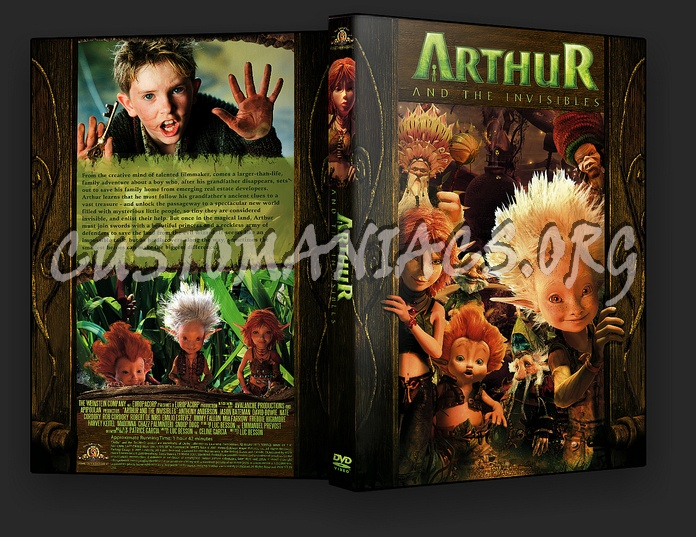 Arthur And The Invisibles Dvd Cover Dvd Covers Labels By Customaniacs Id 9435 Free Download Highres Dvd Cover