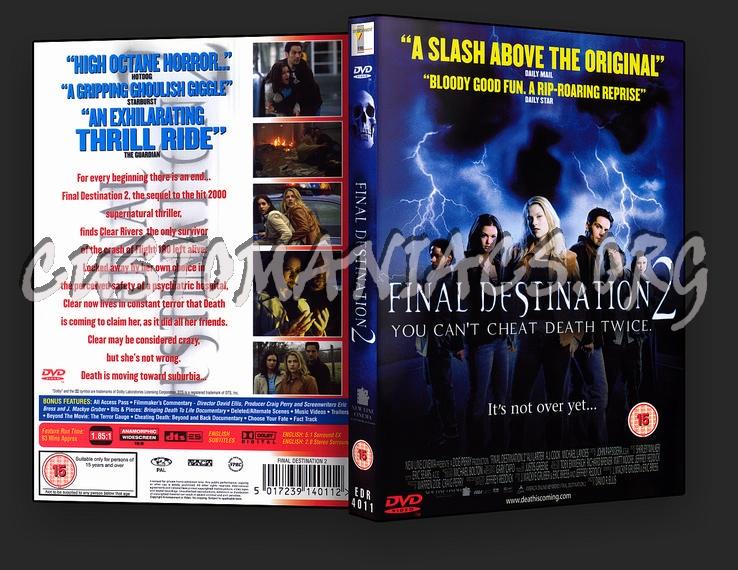 Final Destination 2 dvd cover
