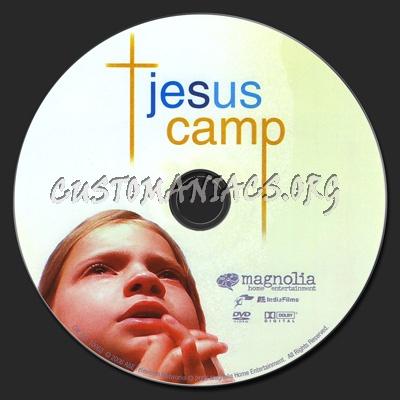 Jesus Camp dvd label