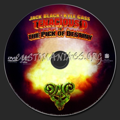 Tenacious D dvd label