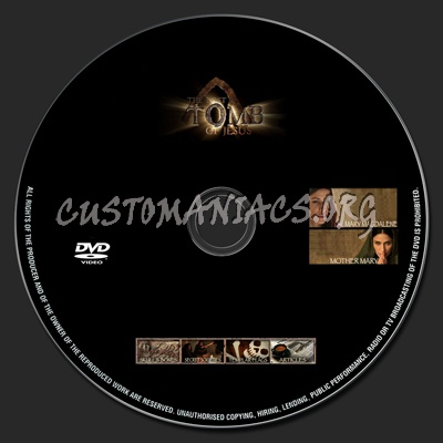 The Lost Tomb Of Jesus dvd label