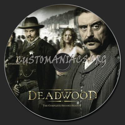 Deadwood Season 2 dvd label