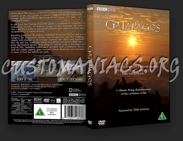 Galapagos dvd cover