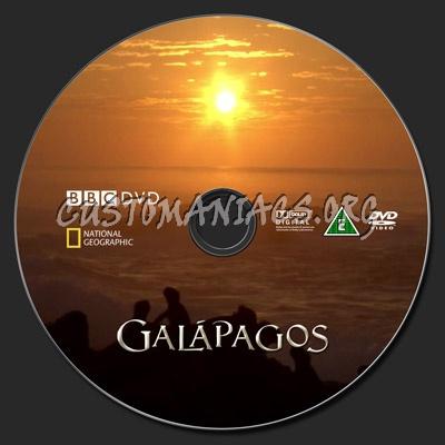 Galapagos dvd label