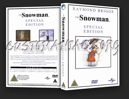 The Snowman dvd cover
