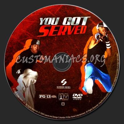 You Got Served dvd label