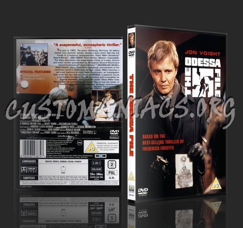 The Odessa File dvd cover