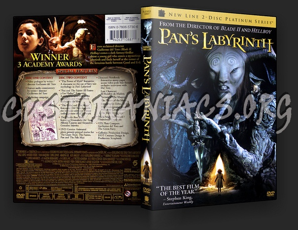 Pan's Labyrinth dvd cover