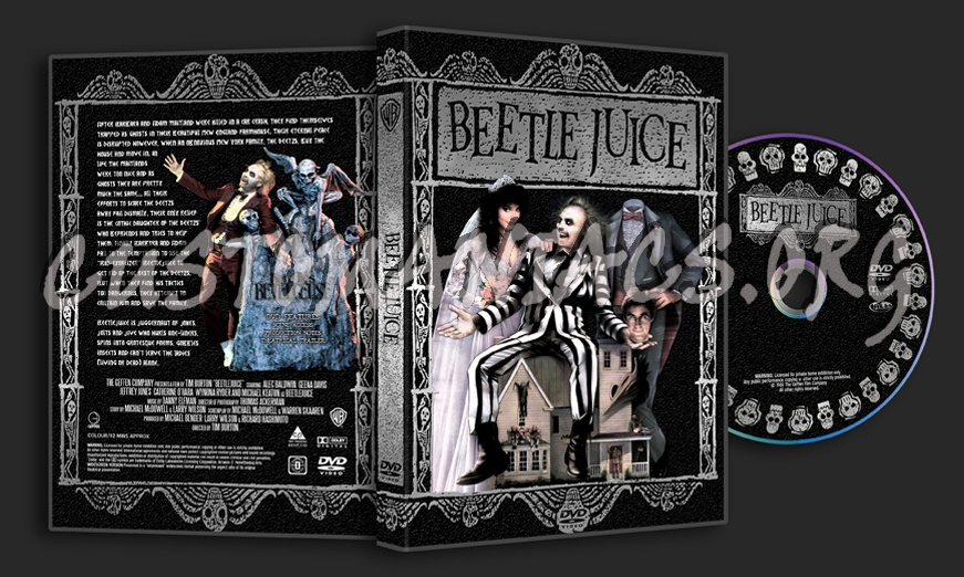 Beetlejuice dvd cover