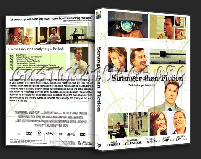 Stranger Than Fiction dvd cover