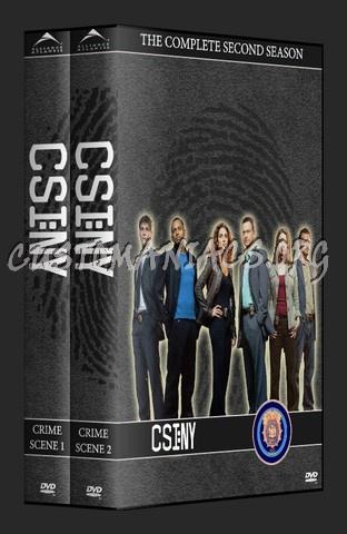 CSI - New York Season 1-2 dvd cover