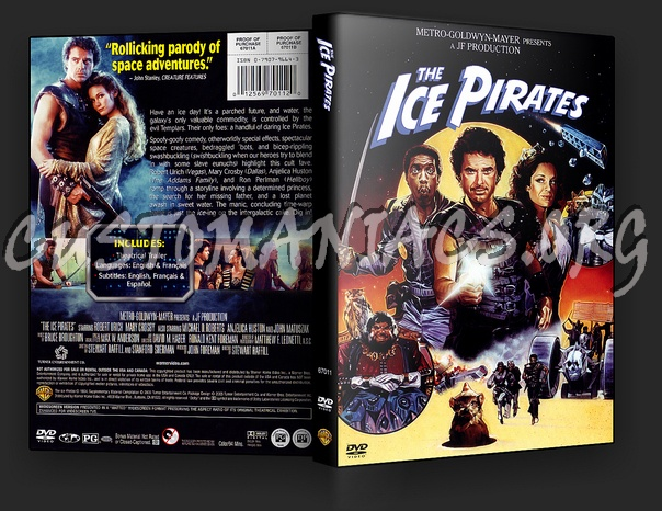 The Ice Pirate dvd cover