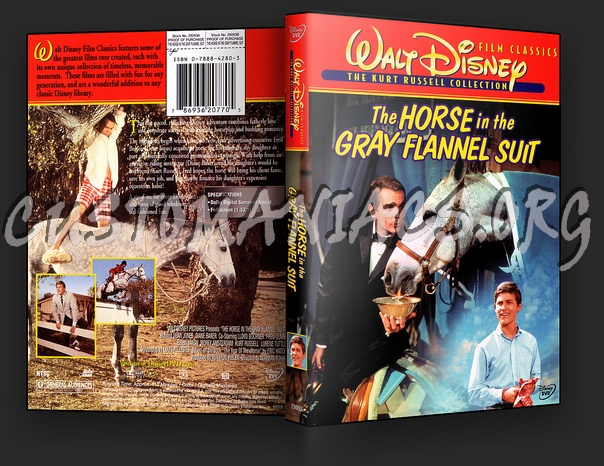 The Horse In The Gray Flannel Suit dvd cover