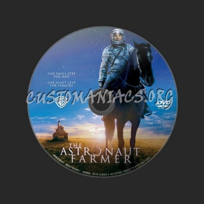 The Astronaut Farmer dvd label