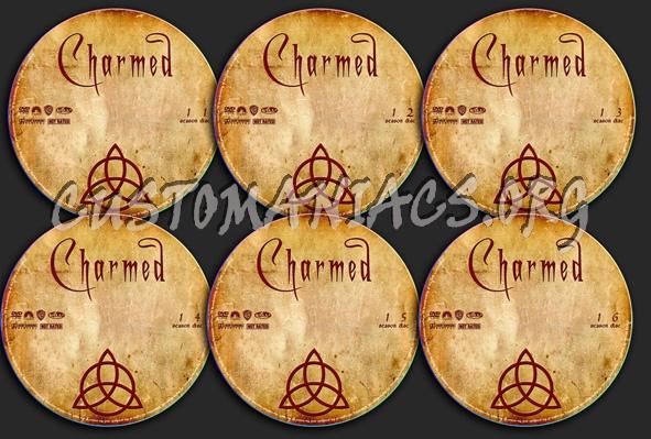 Charmed dvd label