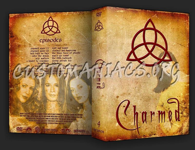 Charmed Season 1-8 dvd cover