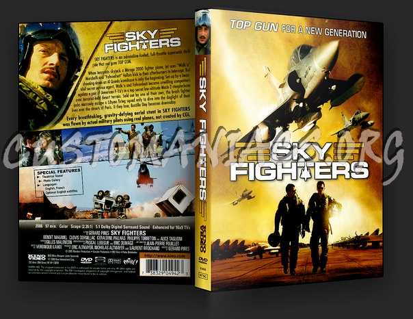 Sky Fighters dvd cover