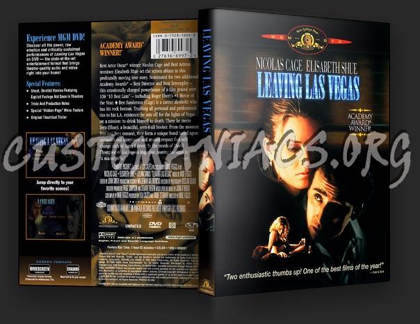 Leaving Las Vegas dvd cover