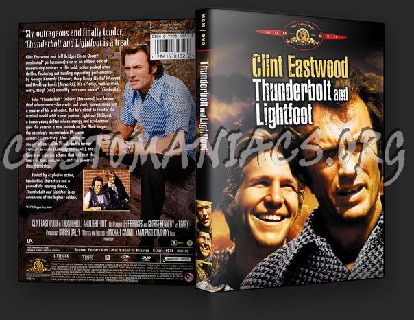 Thunderbolt And Lightfoot dvd cover
