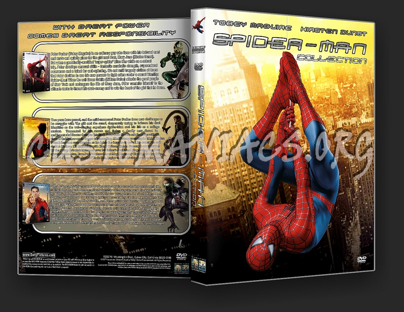 Spider-Man Collection dvd cover