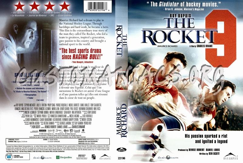 Rocket Richard dvd cover