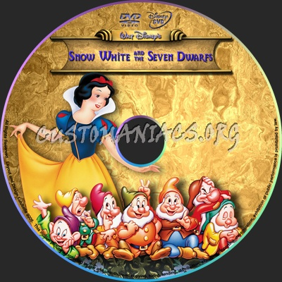 Snow White dvd label