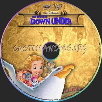 Rescuers Down Under Dvd The Rescuers Down Under Dvd