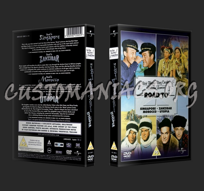 The Road To dvd cover