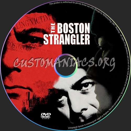 The Boston Strangler dvd label