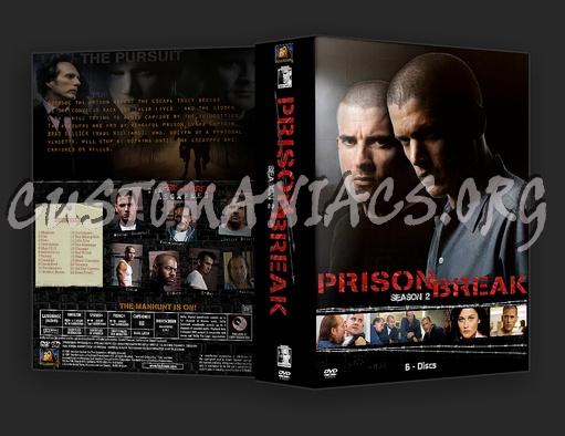 Prison Break - Season 2 dvd cover