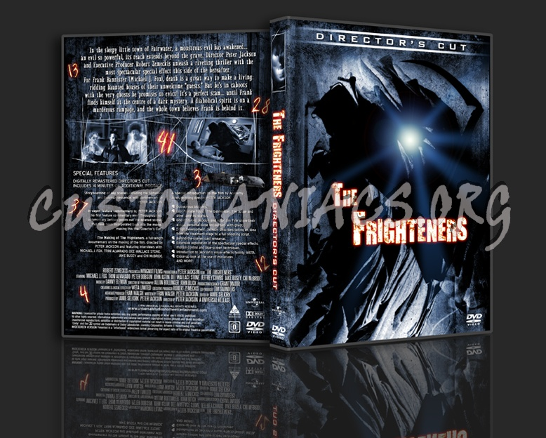 The Frighteners 3 Disc Director's Edition dvd cover