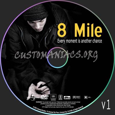 8 Mile Dvd 8 Mile Dvd Label