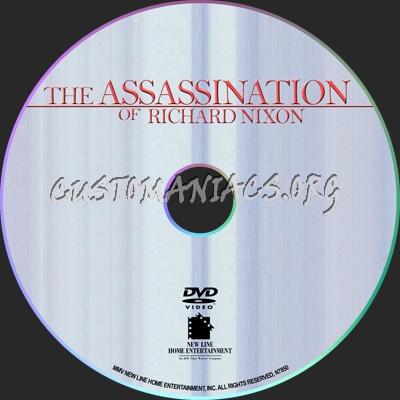 The Assassination of Richard Nixon dvd label