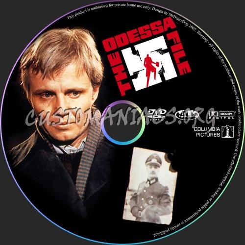 The Odessa File dvd label