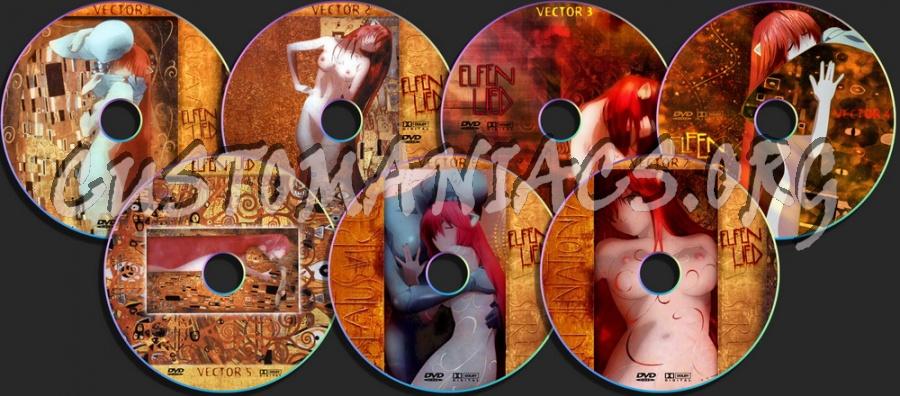 Elfen Lied dvd label