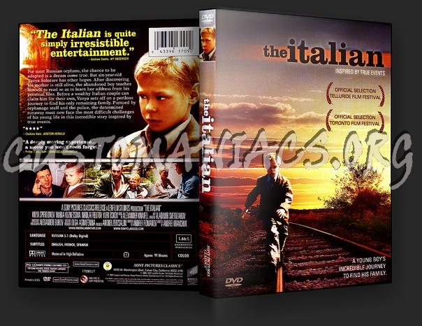 The Italian dvd cover