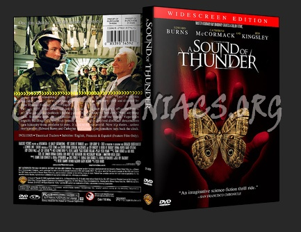 A Sound of Thunder dvd cover