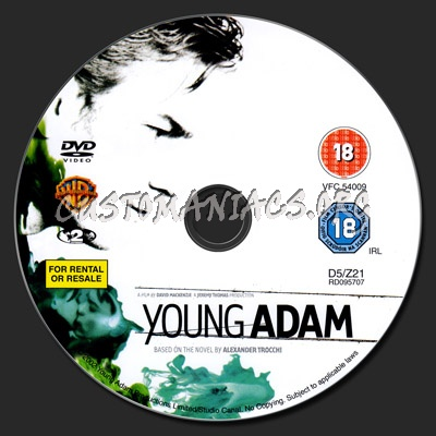 Young Adam dvd label