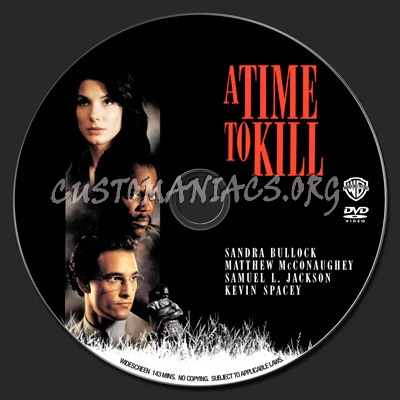 A Time to Kill dvd label