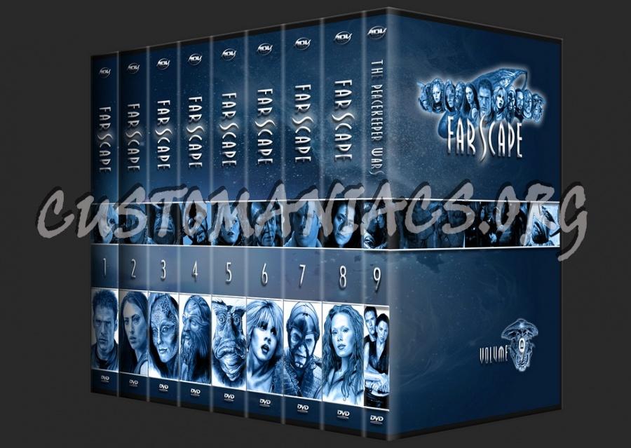 Farscape Season 1-9 dvd cover