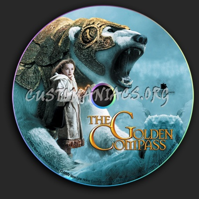 Golden Compass dvd label