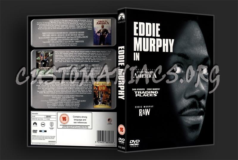 Eddie Murphy Box Set dvd cover