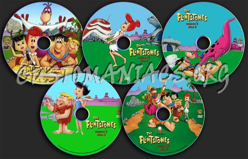 The Flintstones Season 2 dvd label