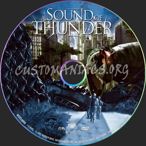 A Sound of Thunder dvd label