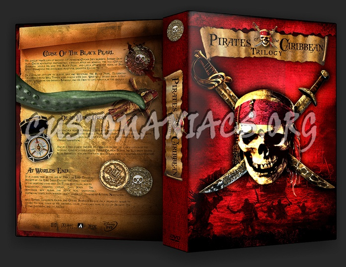 Pirates of the Caribbean dvd cover