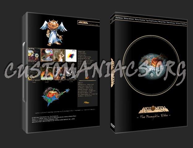 Helloween -The Pumpkin Video dvd cover
