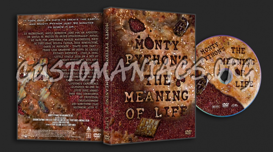 Monty Python's The Meaning Of Life dvd cover