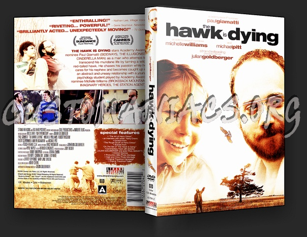 The Hawk is Dying dvd cover