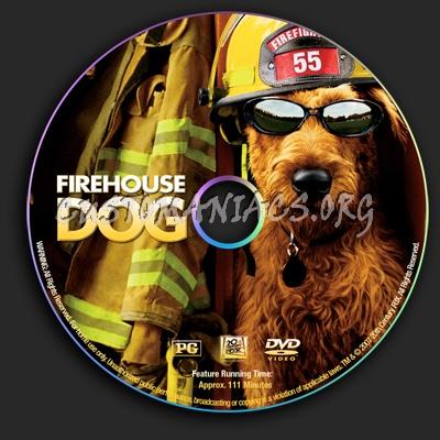 Firehoue Dog dvd label