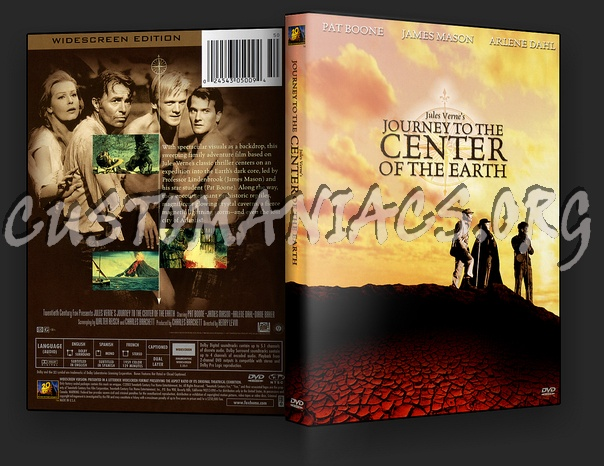 Journey to the Center of the Earth dvd cover